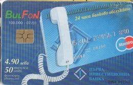 Bulgarie : Bul Fon : Téléphoner Par Carte Bancaire - Téléphones