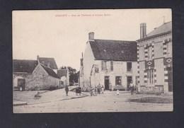 Crugny (Marne 51) Rue De Malneau Et Ferme Bellot ( Animée Ed. Michel Et Francois Cachet Convoyeur Reims à Bouleuse) - France
