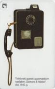 Croatie : Téléphone Public 1940 - Téléphones