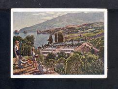 1929. USSR. Postcard. Crimea. Pioneer International Camp-sanatorium Artek. The Mountains. Sea. Flora. I.I. Mashkov. - Vacaciones & Turismo