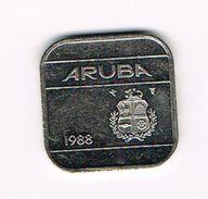 ) ARUBA   50  CENTS   1988 - [ 4] Colonies
