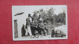 RPPC   - To ID Location   Horse Drawn Float  ???     Ref 2656 - Postcards