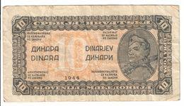 Yugoslavia 10 Dinara 1944  *V* - Yugoslavia