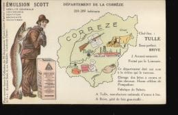 196  EMULSION SCOTT ...CORREZE - Publicité