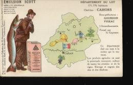198  EMULSION SCOTT ...LOT - Publicité