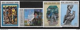 Islande 1974 N° 438/441  Neufs ** MNH 100 Ans De Peuplement De L'Islande - Ungebraucht