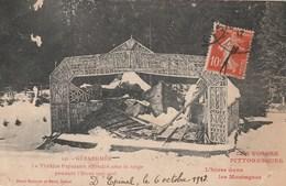 GERARDMER LE THEATRE POPULAIRE EFFONDRE SOUS LA NEIGE PENDANT L HIVER 1905 1906 - Gerardmer