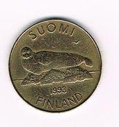 )  FINLAND  5 MARKKAA 1993 - Finlande