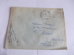 Marcophilie Cachet AF.N. Poste Aux Armes Destination Dreux 28 - France (ex-colonies & Protectorats)