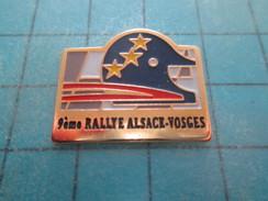 Pin115d Pin´s Pins / Beau Et Rare / AUTOMOBILES : 9e RALLYE ALSACE VOSGES - Rallye