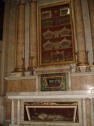 Altare S.MASSIMO Martire/Urna Corpo Santo E Sangue (Catacombe S.Agnese) Chiesa S.Vincenzo CALCINATO Brescia - Fotografia - Religione & Esoterismo