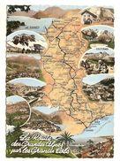 05)route Des Hautes Alpes Par Les Grands Cols(de Vars-de La Cayolle-du Galibier-d'izoard-barcelonnette-allos-guillaumes - France