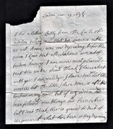 """1696/7 Letter From """"Lord Arran, London"""" To """"My Lord Whitelaw"""".  Ref 0399 - Autographs"""