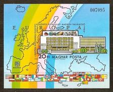 Hongarije Hongrie Yvertn° Bloc 171a *** Ongetand Non Dentelé Cote 30 Euro Madrid - Blocs-feuillets