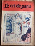 Le Cri De Paris Les Soucis De Marianne Emprunt  Pub Zig Zag Septembre 1920 - Newspapers