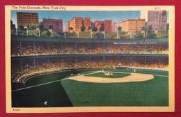 BASEBALL   STADIO THE POLO GROUNDS NEW YORK CITY  CON PARTITA IN CORSO - Baseball