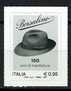 2017 -  Italia - Italy - Borsalino  -  Mint - MN - 1946-.. République