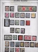 Hong Kong - Collection Vendue Page Par Page - Timbres Oblitérés / Neufs * (avec Charnière) -Qualité B/TB - Gebruikt