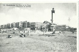 Blankenberghe Bkankenberge Le Phare Et La Digue - Vuurtoren En Zeedijk - 1959 - Blankenberge