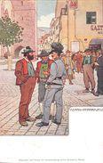 "¤¤  -  AUTRICHE   -   Illustrateur "" H.  ALTWIRTH ""  -  MERAN  - Pfarrplatz      -  ¤¤ - Autriche"