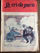 Le Cri De Paris Les Marrons Du Feu Roumain Bulgare Pub Marthe Regnier Savon Cadum  Aout 1913 - Otros