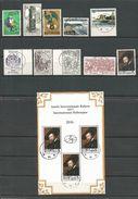 1977 - TRES BEAU LOT DE 27 TIMBRES + 1 BLOC - CACHETS à ETOILES  HUY 11 - Poststempel