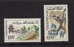 MAROC 1963 CAMPAGNE MONDIALE CONTRE LA FAIM  YVERT N°459/60  NEUF MNH** - Marocco (1956-...)