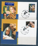 ITALIA 2002 -- NATALE --  Cartolina MAXIMUM -- - Cartoline Maximum