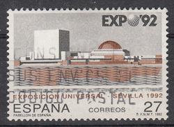 SPANJE - Michel - 1992 - Nr 3029 - Gest/Obl/Us - 1981-90 Lettres