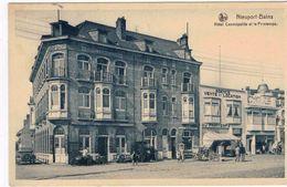 Nieuport-Bains  Hôtel Cosmopolite Et Le Printemps - Nieuwpoort