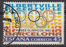 SPANJE - Michel - 1992 - Nr 3073 - Gest/Obl/Us - 1981-90 Lettres
