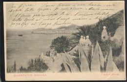 CROATIA DUBROVNIK RAGUSA OLD POSTCARD 1903 - Croatia