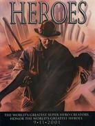2001 Marvel Heroes Magazine Comic #1 9/11 World Trade Center Twin Towers - Marvel
