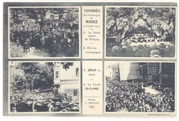 Cpa Congrès Eucharistique De Rodez 1913 - La Foule Attend Les Evêques ...    (S.2045) - Rodez