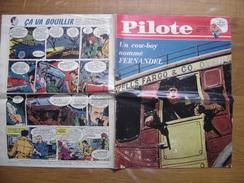 1961 PILOTE 73 Pilotorama LES NEFS DES CROISADES Un Cow Boy Nomme Fernandel - Pilote