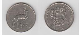 1 RAND 1989 - Afrique Du Sud