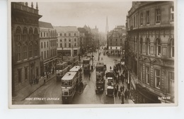 ROYAUME UNI - ECOSSE - SCOTLAND - DUNDEE - High Street (tramways ) - Angus