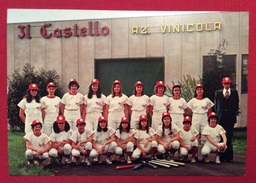 """BASEBALL  SQUADRA SOFTBALL CLUB DELLA """" VINI CASTELLO """"  BUTTRIO UDINE  CAMPIONARTO ITALIANO DI SERIE B - Baseball"""