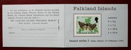 Insects Insectes Insekten Falkland Booklet 20 Values / ** MNH - Ohne Zuordnung