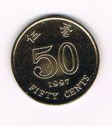 )  HONG KONG  50  CENTS 1997 - Hong Kong