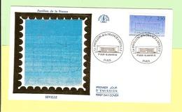 1er Jour 1992. 18 Janvier.la Pavillon De France A Seville. Cote 2013. 2.70 € . Ttb - 1990-1999