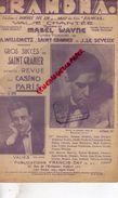 PARTITION MUSICALE-RAMONA- SAINT GRANIER-MABEL WAYNE-WILLEMETZ-LE SEYEUX-REVUE DU CASINO PARIS 1928-WURTH-VALIES-DAY - Partitions Musicales Anciennes
