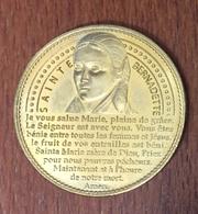65 LOURDES SAINTE BERNADETTE MÉDAILLE ARTHUS BERTRAND 2008 PAS MONNAIE DE PARIS JETON MEDALS TOKEN COINS MONNAIE - Arthus Bertrand