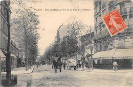 75014-PARIS- RUE D'ALESIA- PRISE DE LA RUE DES PLANTES - District 14