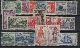 Océanie (Etablissement )_ Exposition Coloniale 1937 Lot - Oceanië (1892-1958)