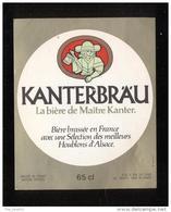 Etiquette De Bière Bock  -   Kanterbräu  65 Cl -  SEB  à Sèvres  (92) - Beer