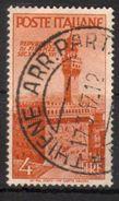 1946 - Avvento Della Repubblica - 4 Lire - Sassone N.569 - 1946-60: Used