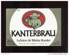 Etiquette De Bière -  Kanterbräu 33 Cl  -  SEB  à Sèvres  (92) - Beer