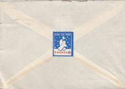 RARE CINDERELLA NORGE GOD JUL 1953 - O. HESTNESS BERGEN 20.11.1953 / 5 - Norwegen
