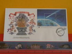 FDC Astronomie > Astrologie > PORTUGAL, ARA - 20.12.1986 - Comète De Halley - Astronomie